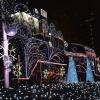 夜の東京散歩:新橋機関車広場