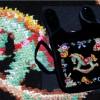 定番のお土産だったシュニール織りのハンドタオル