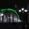 夜の東京散歩:隅田川をわたる風が涼しい「勝鬨橋」