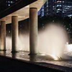 夜の東京散歩:和田倉噴水公園