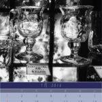7月のカレンダーは小樽のガラス工房