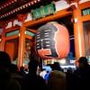 夜の東京散歩:元旦の浅草