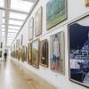 東京散歩:乃木坂の国立新美術館で開催されている『白日会展』