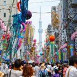 東京散歩:下町七夕まつり