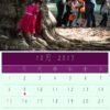 10月のカレンダー:ハロウィン